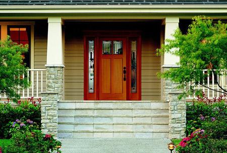 drzwi frontowe