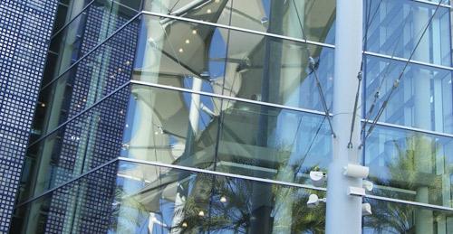 budynek szklany