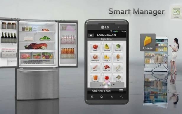 inteligentna lodówka w kuchni
